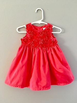 Fuchsia Rose Baby Girl EASTER Dress Size 6 Months