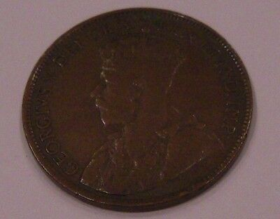 1919 Canada Large One Cent - King George V