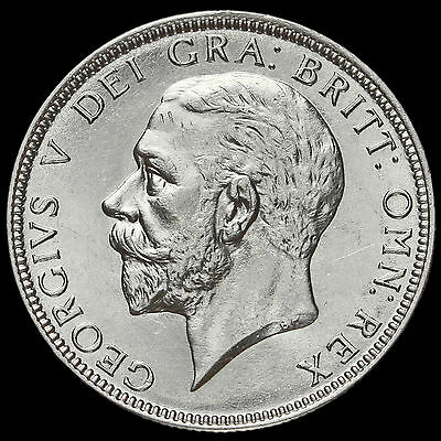 1930 George V Silver Florin, Harder Date, A/UNC