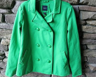 Gap Kids Girls' Double Breasted Green Peacoat Size Xxl 14-16