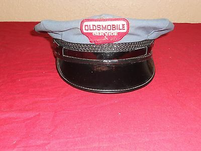 Super Rare Oldsmobile Service Attendant Uniform Hat Cap Hard to Find