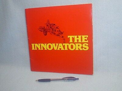 1977 Sperry New Holland~The Innovators Booklet