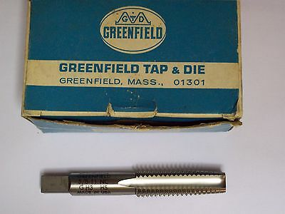 "1-Greenfield (GTD) Threading Hand Taper Tap, 5/8"" - 11 NC, G H3 HS,Made in USA!"