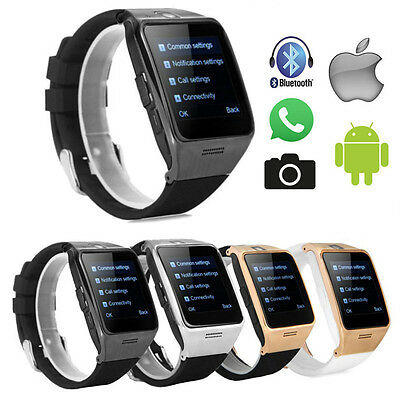 2017 LG128 Waterproof Bluetooth Smart Watch Phone for Samsung HTC iPhone Android