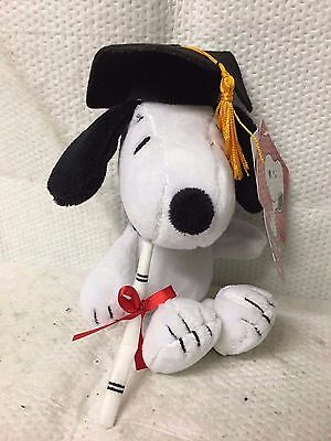 Peanuts Snoopy Charlie Brown Character Graduation Graduate Gift Plush Dog