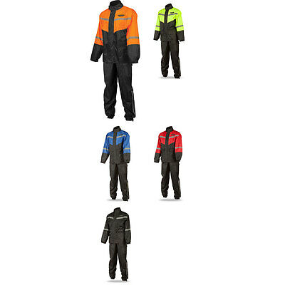 Fly Racing Adult 2-Piece Motorcycle Rain Suit Riding Gear - Pick Size & Color
