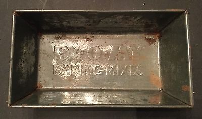 Vintage Advertisement PY-O-MY Baking Mixes Tin Bread Pan Solid Condition Used