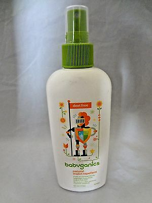 Babyganics Natural Insect Repellent, 6 oz EXP 2919