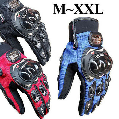 Motorcycle Motocross Full Finger Bike Gloves Outdoor Sport Riding Racing Cycling