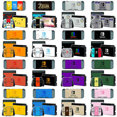 For Nintendo Switch Console Film Sticker Decals Paster Cover Skin Protector