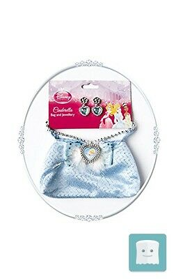 Disney Princess ~ Cinderella Bag And Jewellery Set - Kids Accessory