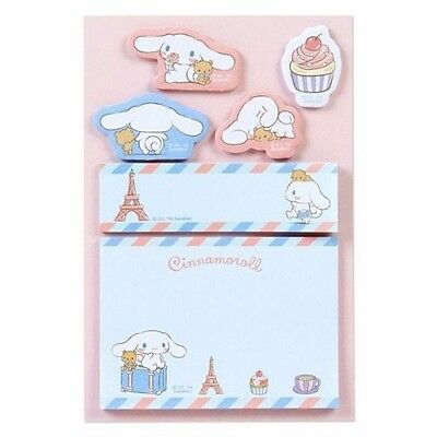 Cinnamoroll Post-it Sticky Notes Memo Pad 120 pieces Sanrio Japan