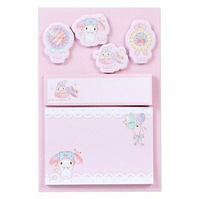 My Melody Post-it Sticky Notes Memo Pad 120 pieces Sanrio Japan