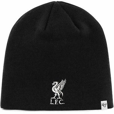 Liverpool FC Supporters Beanie In Black From 47 Brand - Support Your Soccer Team