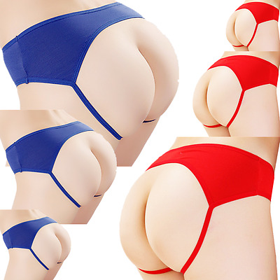 Panties Briefs Underwear 6 Knickers Women Cotton New G-string Underpants Thongs