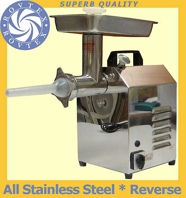 Meat Grinder #8 | Stainless steel commercial meat mincer from ROVTEX