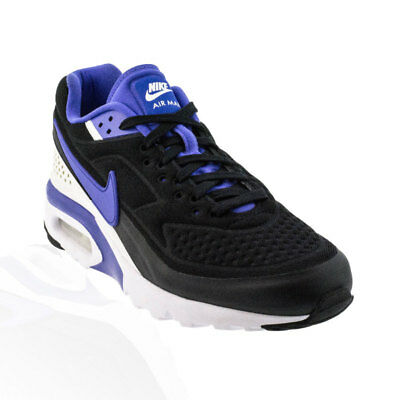 Nike - Air Max BW Ultra SE Casual Shoes - Black/Persian Violet/White