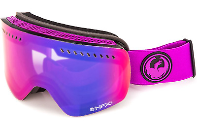 NEW Dragon NFXS Goggles-Violet Purple-2 Lenses-SAME DAY SHIPPING!