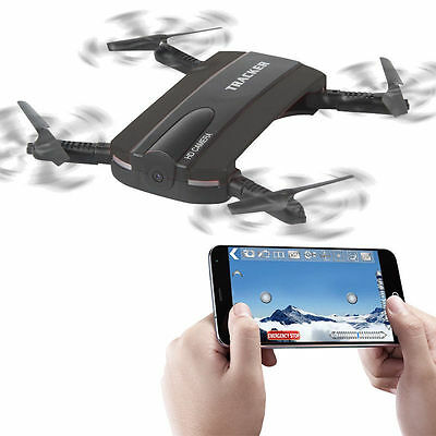 JXD 523 Foldable RC Selfie Drone Wifi FPV 720P Camera Altitude Hold Better H37
