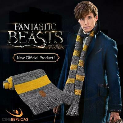 FANTASTIC BEASTS & Where to Find Them : NEWT SCAMANDER SCARF from Cinereplicas