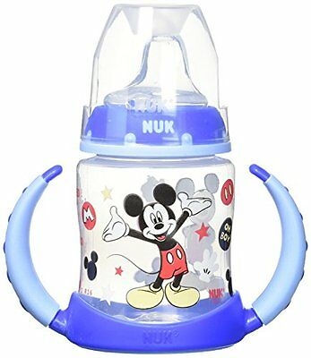 NUK Disney Learner Cup with Silicone Spout, Mickey Mouse, 5 Ounce