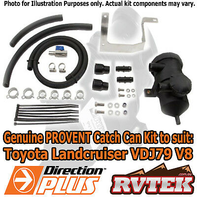 Genuine Provent Oil Catch Can Kit Fits Toyota Landcruiser Vdj79 4.5 Litre V8 79