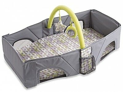 Summer Infant Travel Baby Sleeper Crib Bed Bassinet Camping Daycare Portable New