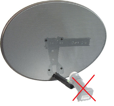 Sky Zone 1 Dish & Wall Mount MK4 -  For Sky and Freesat
