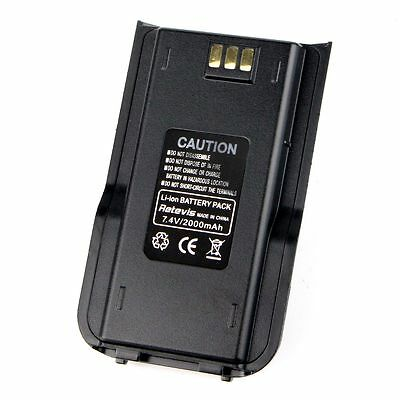 2000mAh Radio Li-ion Battery for Tytera/ TYT MD-380, Retevis RT3 DMR Radios UK