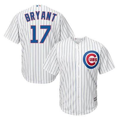 Majestic Kris Bryant #17 Chicago Cubs Cool Base MLB Trikot Home