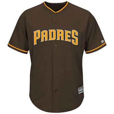 Majestic San Diego Padres Cool Base MLB Trikot Alternate Braun