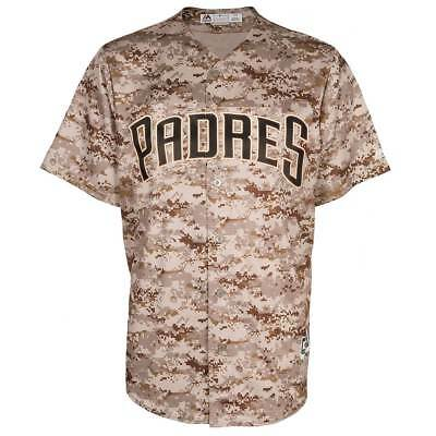 Majestic San Diego Padres Cool Base MLB Trikot US Marines