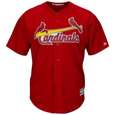 Majestic St. Louis Cardinals Cool Base MLB Trikot Alternate Rot