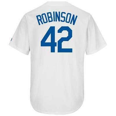Majestic Jackie Robinson #42 Brooklyn Dodgers Cool Base MLB Trikot Home