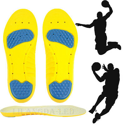 1 Pair Sports Shoes Insoles Insert Pad PU Foam Support Arch Inner Soles Cushion