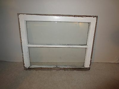 Vintage Wood Frame 2 Pane Panel Glass Window Sash Pinterest Picture Wall Decor