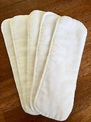 NEW Lot of 5 Baby Infant Cloth Diaper Nappy Liners Insert Diapers Nappies