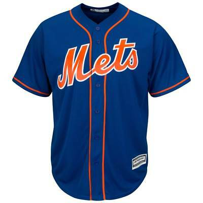 Majestic New York Mets Cool Base MLB Trikot Alternate Home Blau