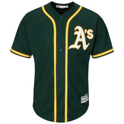 Majestic Oakland Athletics Cool Base MLB Trikot Alternate Grün