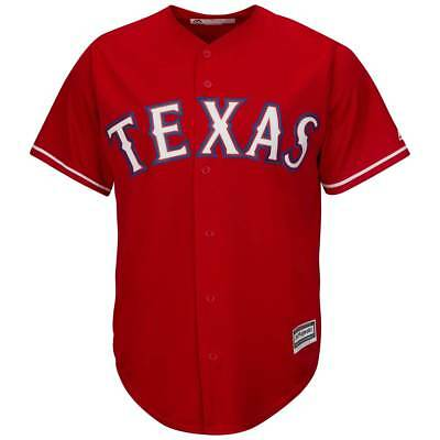 Majestic Texas Rangers Cool Base MLB Trikot Alternate Rot