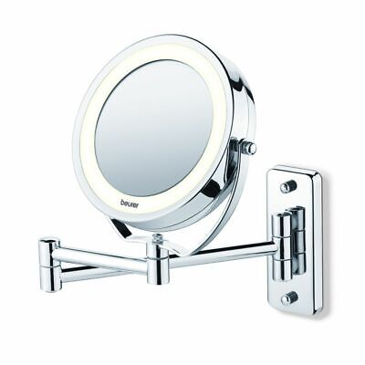 Beurer Illuminated Cosmetic Make-up Mirror 2 Side Table Wall-Mounted BS59 584.10