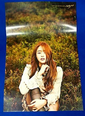 Song Ji Eun - Bobby Doll 2nd Mini Official Unfolded Posters Hard Tube Case Kpop
