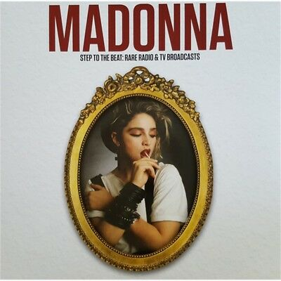 MADONNA step to the beat: rare radio & tv broadcasts VINYL 12 lp unoffical LTD