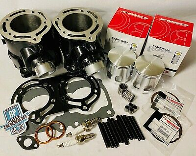 Banshee 64mm Stock Bore Cylinders Wiseco Pro Lite Cometic Top End Rebuild Kit