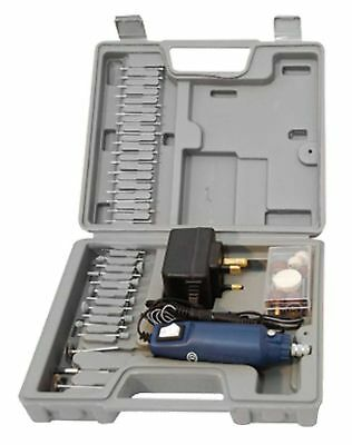 60pc Mini Rotary Hobby Drill Power Multi Purpose Tool Set With Case +Accessories