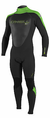 O'Neill Epic 4/3mm Mens Wetsuit 2017 - Blk-Dayglo