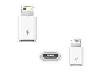 Adapter Lightning auf Micro USB Ladekabel iPhone iPad iPod