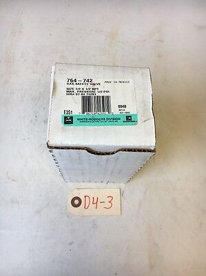 New! White-Rodgers 764-742 Rev.A Gas Safety Valve *Fast Shipping* Warranty!