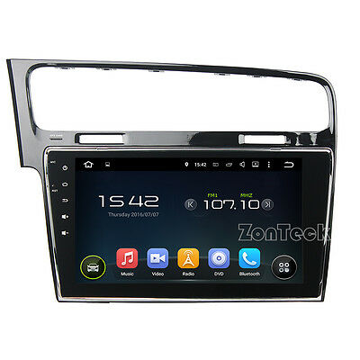 Autoradio Gps Android 5.1 Golf 7 Wi-Fi 3G 4Core Canbus Usb Sd Bluetooth Dab Zk