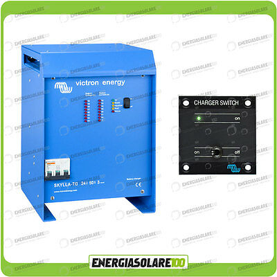Kit Caricabatteria Skylla TG 24V 50A Victron Energy con interruttore remoto